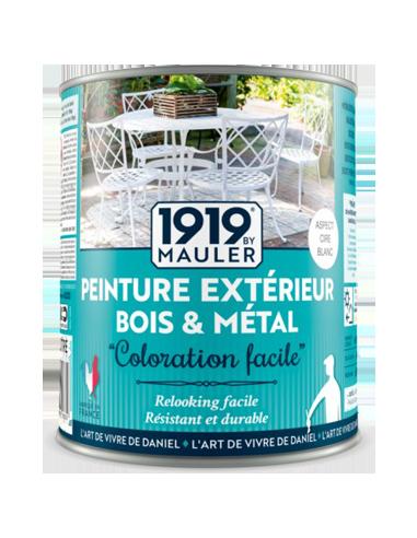 Peinture bois extérieur, peinture métal extérieur, peinture PVC extérieur 1919 BY MAULER Coloration facile
