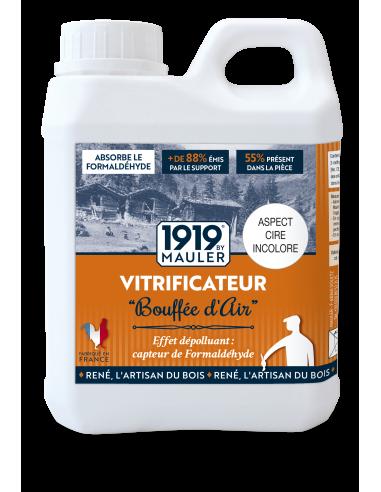 """Vitrificateur parquet """"Bouffée d'Air' 1919 BY MAULER"""