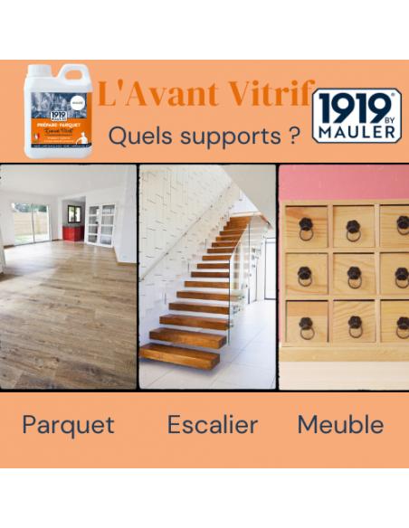 """Fond dur prépare parque """"L'Avant Vitrif"""" 1919 BY MAULER support"""