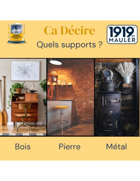 """Décireur biodégradable """"Ca Décire"""" 1919 BY MAULER support"""