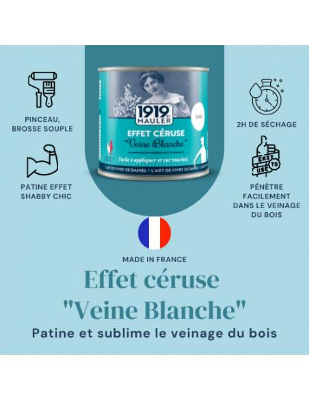 "Effet Céruse ""Veine Blanche"" 1919 By MAULER picto"