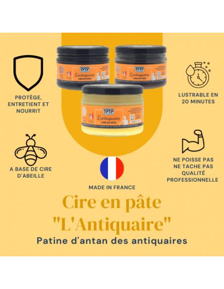 """Cire en pâte """"L'Antiquaire"""" 1919 By MAULER picto"""