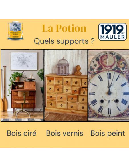 "Popote raviveur bois ""La Potion"" 1919 BY MAULER Supports"