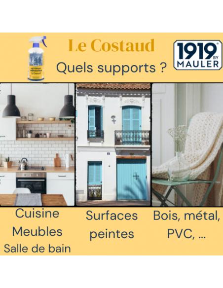 """Nettoyant préparateur """"Le Costaud"""" 1919 BY MAULER Supports"""