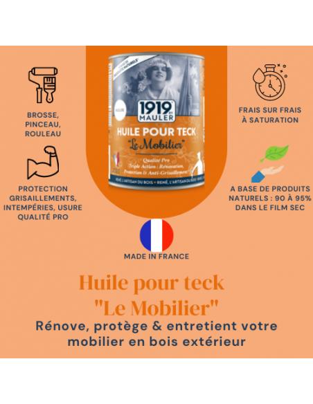 Huile pour Teck Le Mobilier 1919 By Mauler Picto