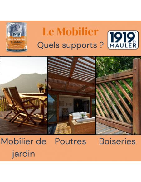 Huile pour Teck Le Mobilier : photo support