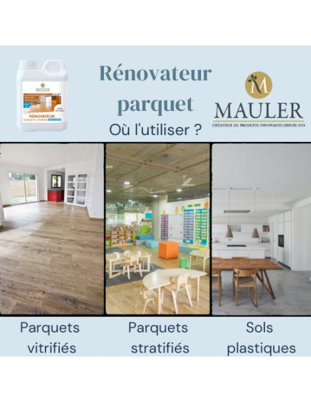 Rénovateur parquet MAULER Supports