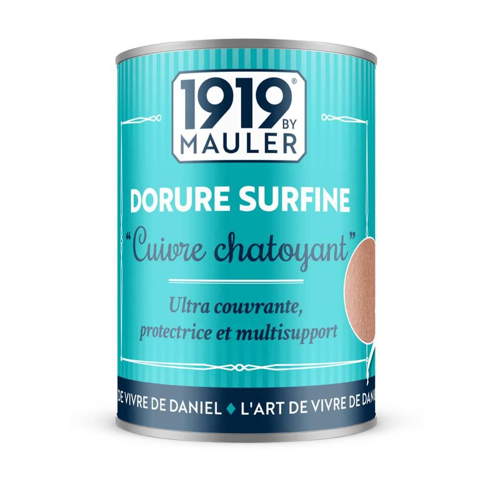 Peinture dorée Cuivre Chatoyant Dorure liquide 0,125L 1919 BY MAULER