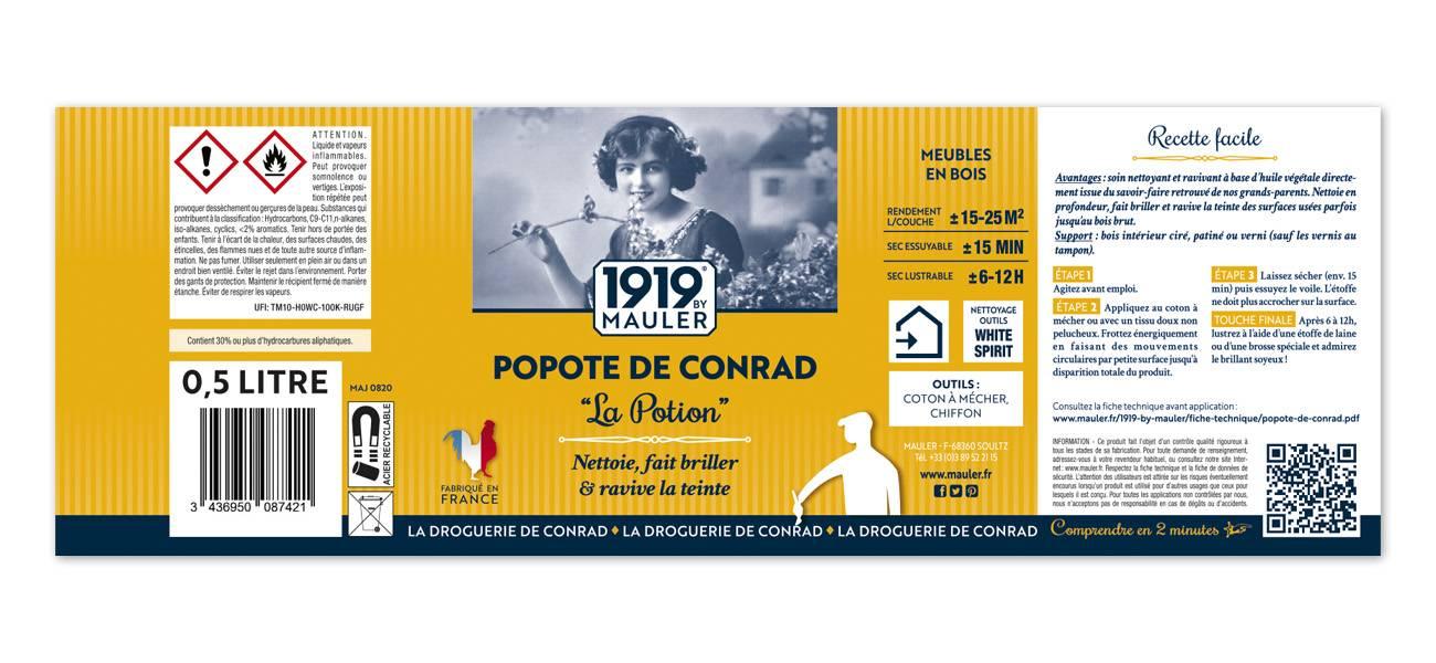 Raviveur bois Popote de Conrad La Potion 1919 BY MAULER