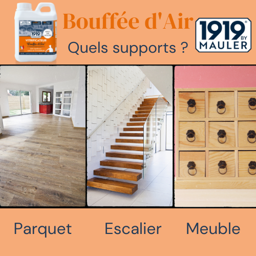 Bouffée d'Air 1919 BY MAULER Supports