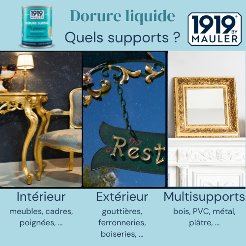 Dorure Surfine 1919 BY MAULER Supports