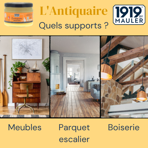 L'Antiquaire 1919 BY MAULER Supports