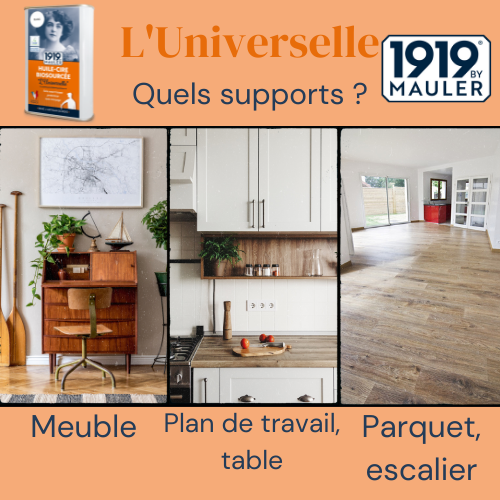 L'Universelle 1919 BY MAULER Supports
