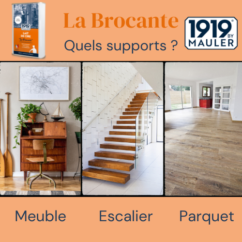 La Brocante 1919 BY MAULER Support