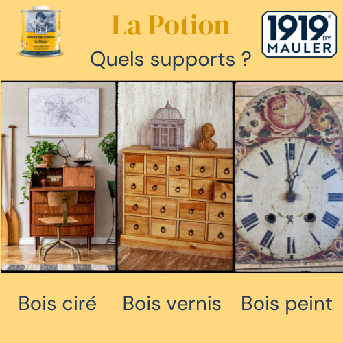La Popote 1919 BY MAULER Supports