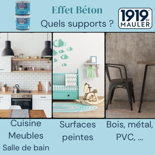 Laisse Béton 1919 BY MAULER Supports