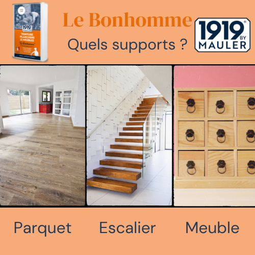 Le Bonhomme 1919 BY MAULER Supports