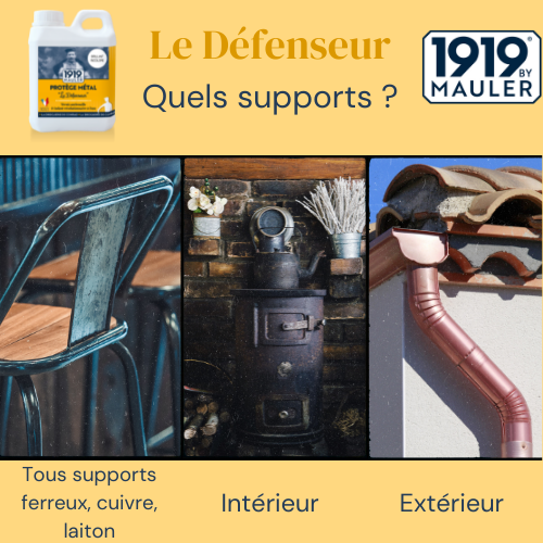 Le Défenseur 1919 BY MAULER Supports