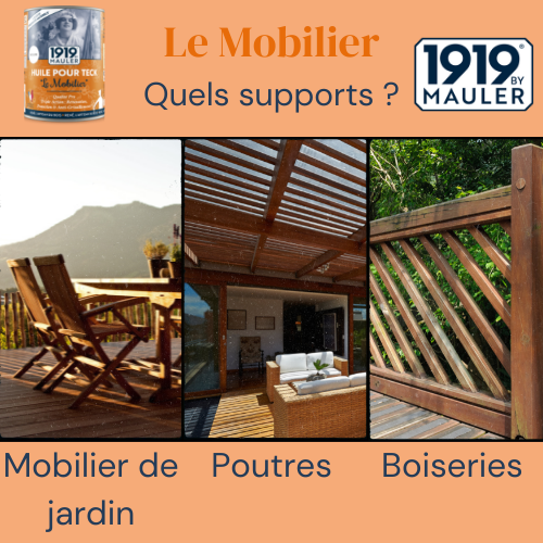 Le Mobilier 1919 BY MAULER Supports