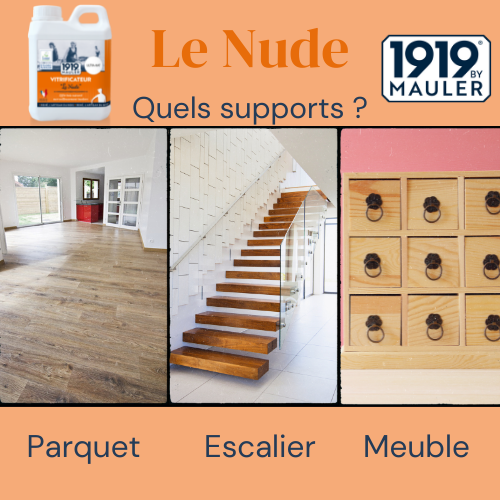 Le Nude 1919 BY MAULER Supports