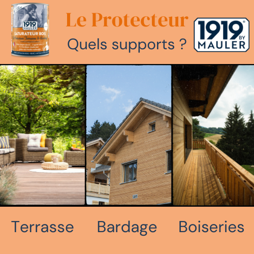 Le Protecteur 1919 BY MAULER Supports