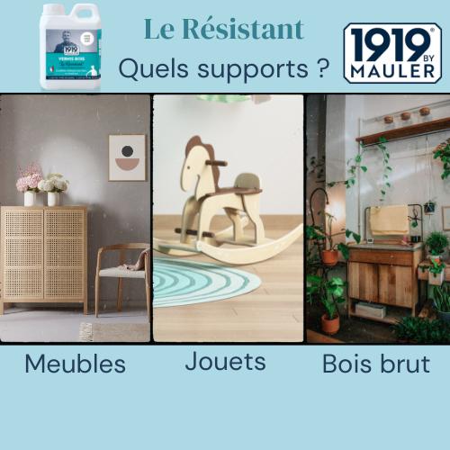 Le Résistant 1919 BY MAULER Supports