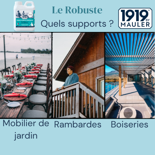 Le Robuste 1919 BY MAULER Supports